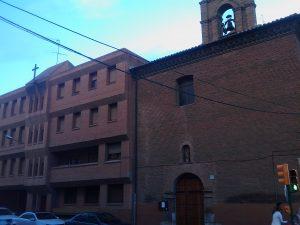 Estado actual convento de capuchinas de Calatayud