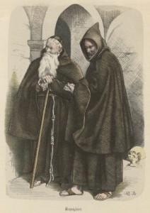 Frailes capuchinos