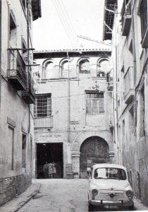 Antiguo Palacio aragonés de la Calle de Gotor, hoy desaparecido