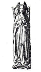 Grabado sepulcro medieval