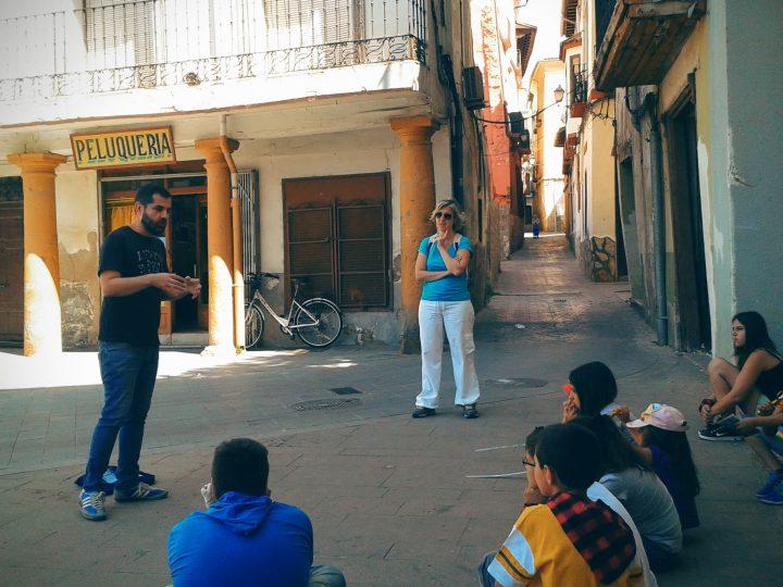 Un paseo cultural diferente con el colegio de Villafeliche