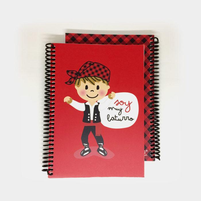 """Cuaderno """"Soy muy Baturro"""""""