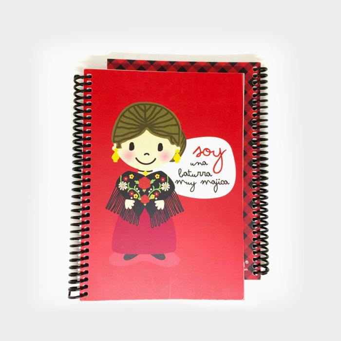"""Cuaderno """"Soy muy Baturra"""""""