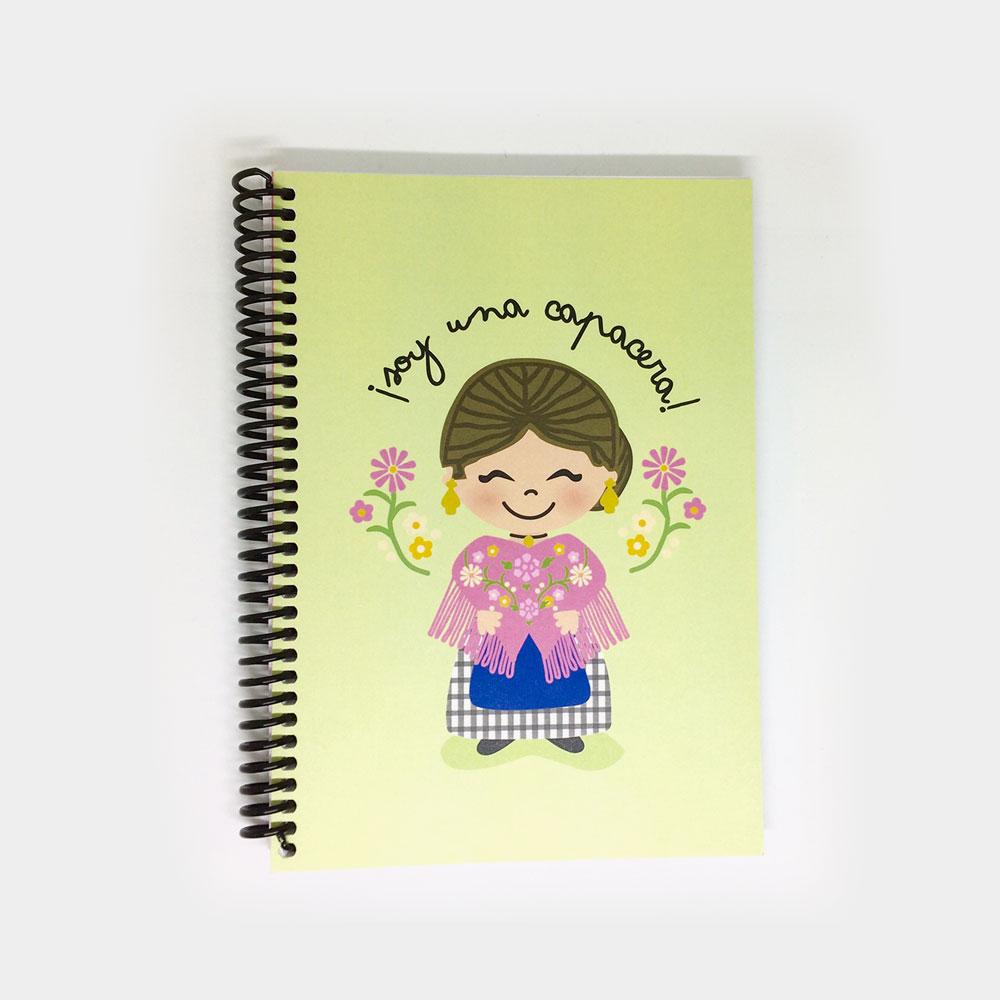 """Cuaderno """"Soy una Capacera"""""""