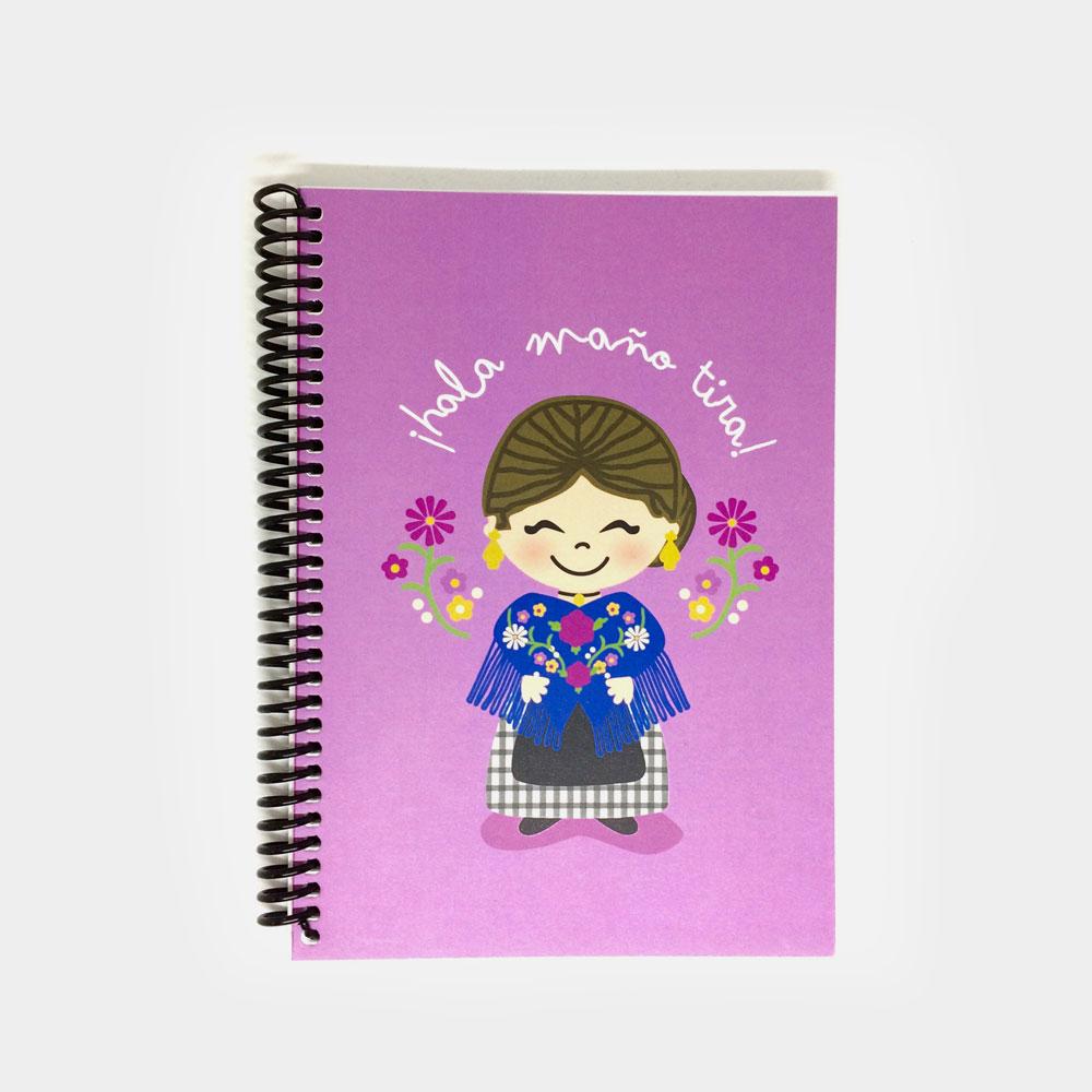 """Cuaderno """"¡Hala Maño Tira!"""""""