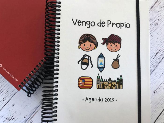 """Agenda 2019 """"Vengo de propio"""" modelo Zaragoza"""