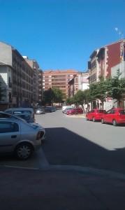 Avenida San Juan el Real actualmente