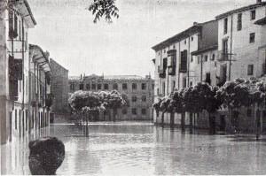 eal en la inundación de 1956