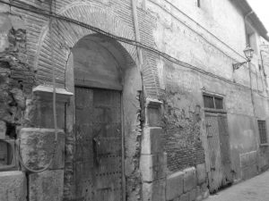 Fachada del fosal de la calle de las Almas de Calatayud