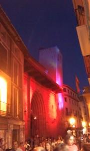 Portada de la iglesia de San Pedro de los Francos de Calatayud