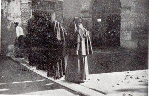 Inundación convento capuchinas Calatayud 1956