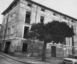 Antigua casa de la plaza de la Comunidad de Calatayud