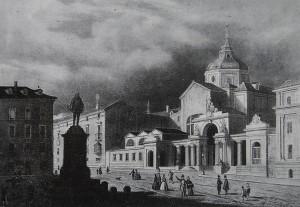 Convento del Espíritu Santo convertido en salón de las Cortes