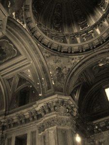 Pechina de la iglesia de San José de Madrid