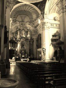 Altar mayor Iglesia San Juan el Real