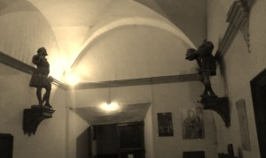 San Isidro y San Lamberto de la iglesia de San Juan el Real de Calatayud