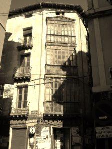 Edificio desaparecido Calle de la Rúa de Calatayud