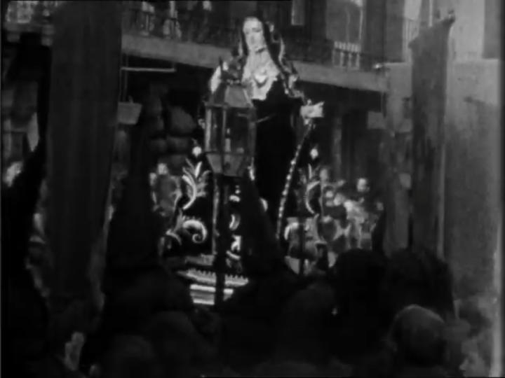 Un martes santo de 1929 en Calatayud