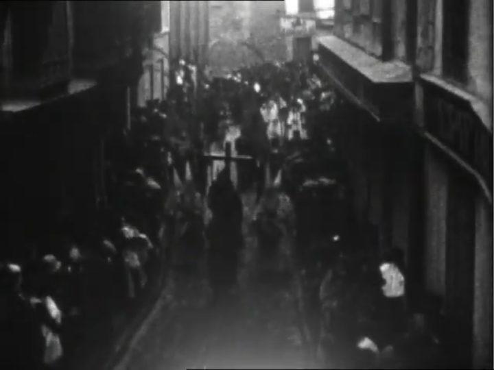 La procesión del Santo Entierro en el Calatayud de 1929
