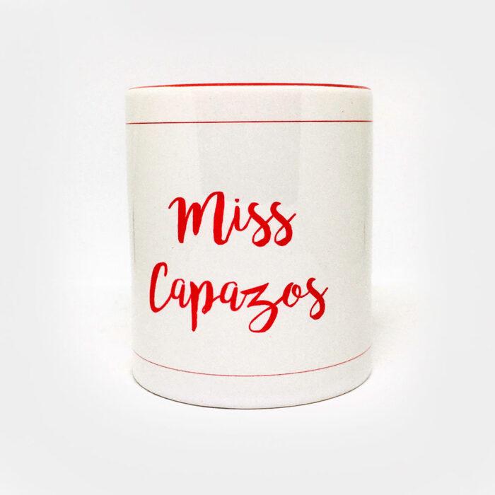 """Taza """"Miss Capazos"""""""