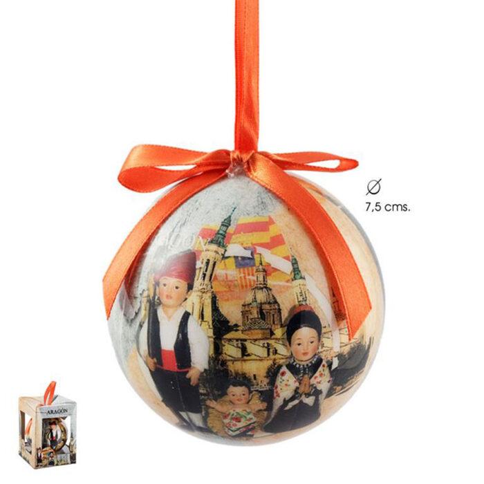 Bola Navidad Aragón